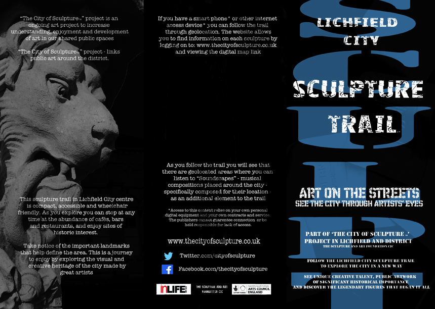 THE LICHFIELD CITY SCULPTURE TRAIL FRONT