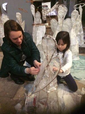10000angels installation Lichfield Cathedral Peter Walker